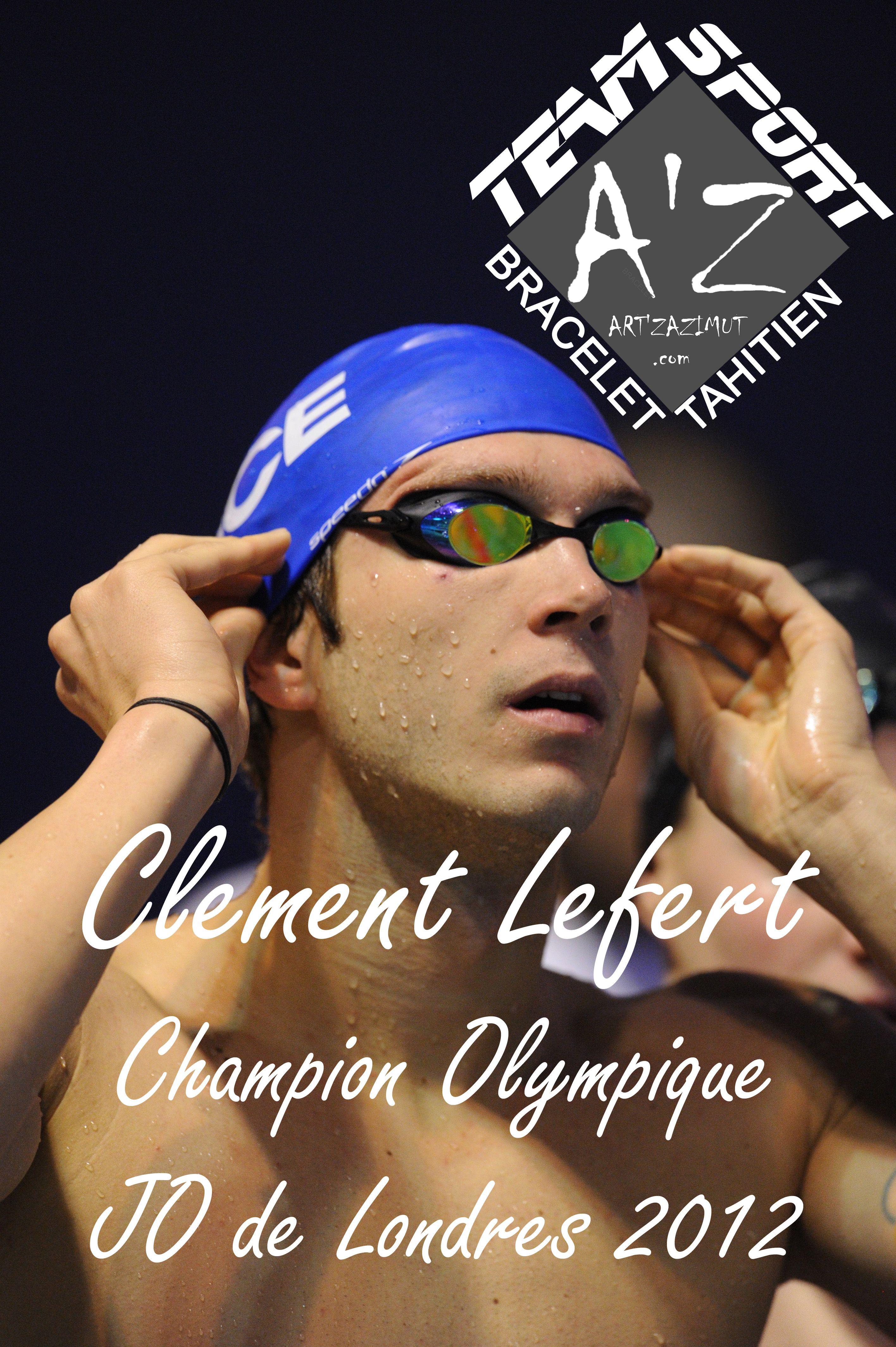 Clement Lefert membre de la Team Sport AZ Bracelet Tahitien