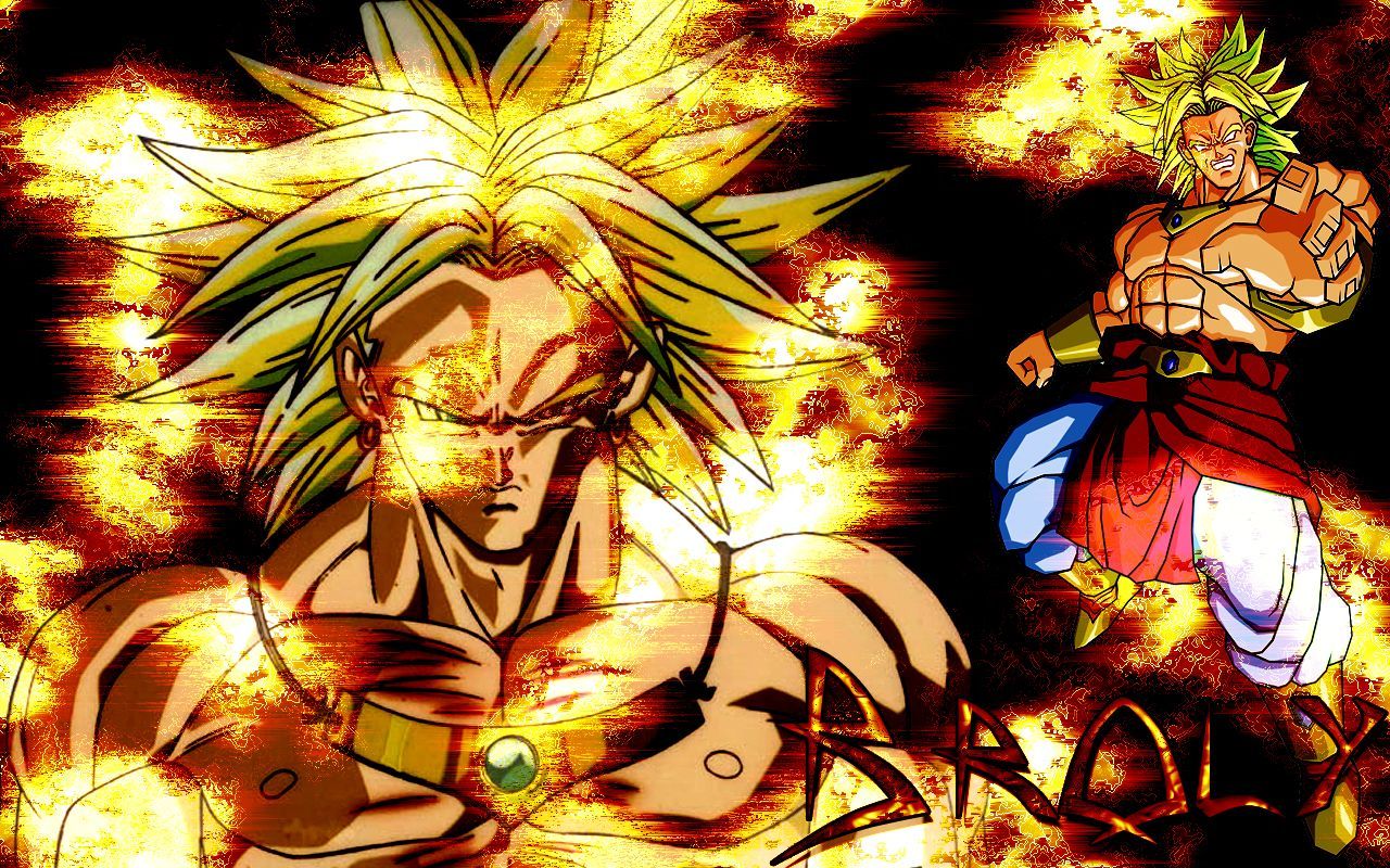 Coolest Dragonball Broly Wallpapers Dragones Dragon Ball Z
