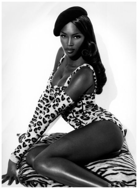 Forever fierce: Naomi Campbell. Happy 45th birthday, Naomi!