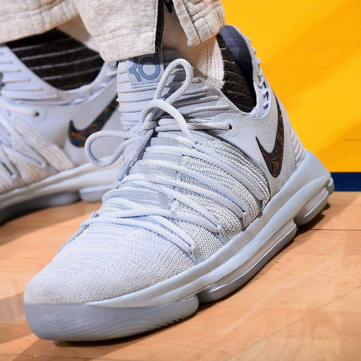 2017 Nike KD 10  Anniversary  Suede Faint Blue For Sale – Hoop Jordan a2686b37d