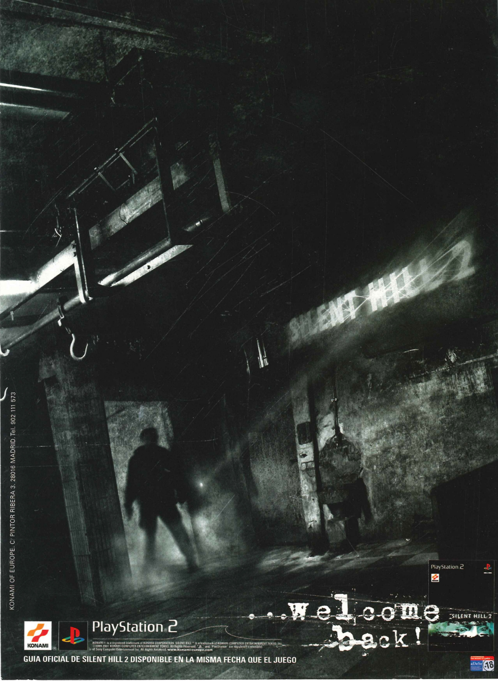 Silent Hill 2 Special 2 Disc Set Pal Spanish Advert Silent Hill 2 Silent Hill Photo Dump