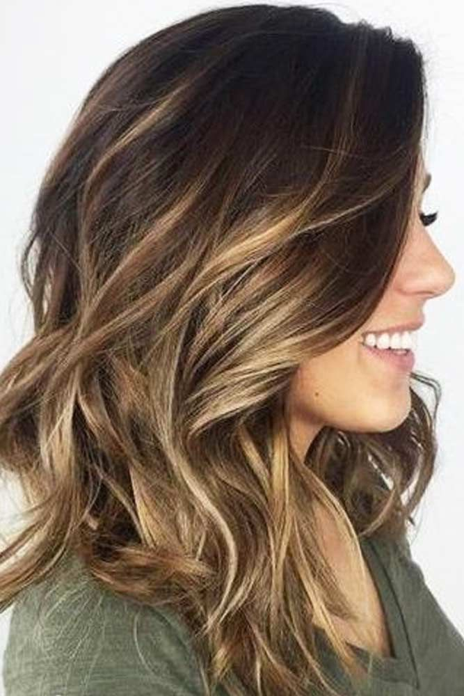 27 Easy Cute Hairstyles For Medium Hair Hair Hair Color Balayage