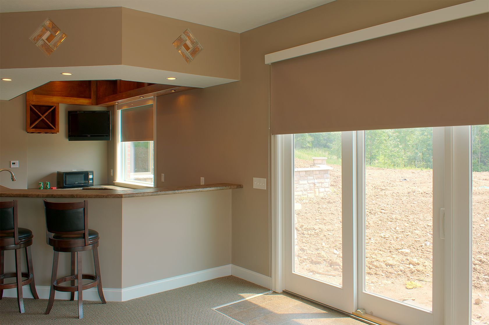 Options for sliding door window treatments google search th