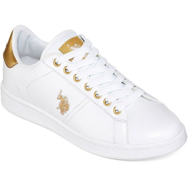 U.S. Polo Assn. Tyra Womens Sneakers - Uspa - White - Size 6 Medium -
