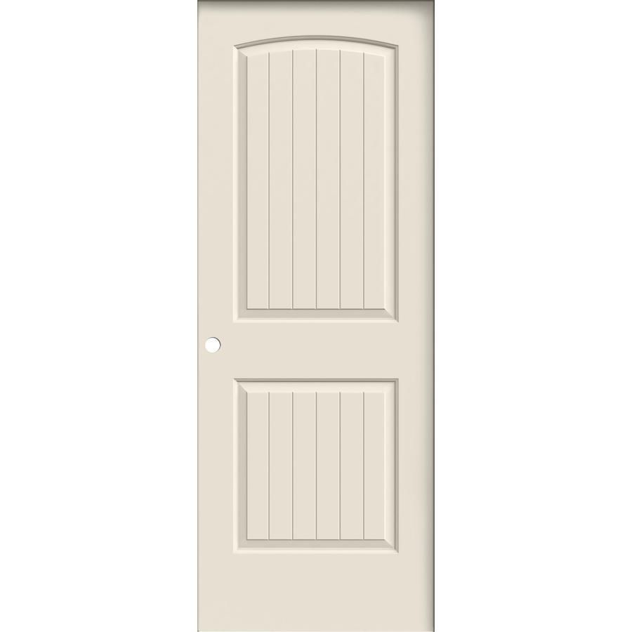 Jeld wen prehung hollow core panel round top plank interior door common in  actual also rh pinterest