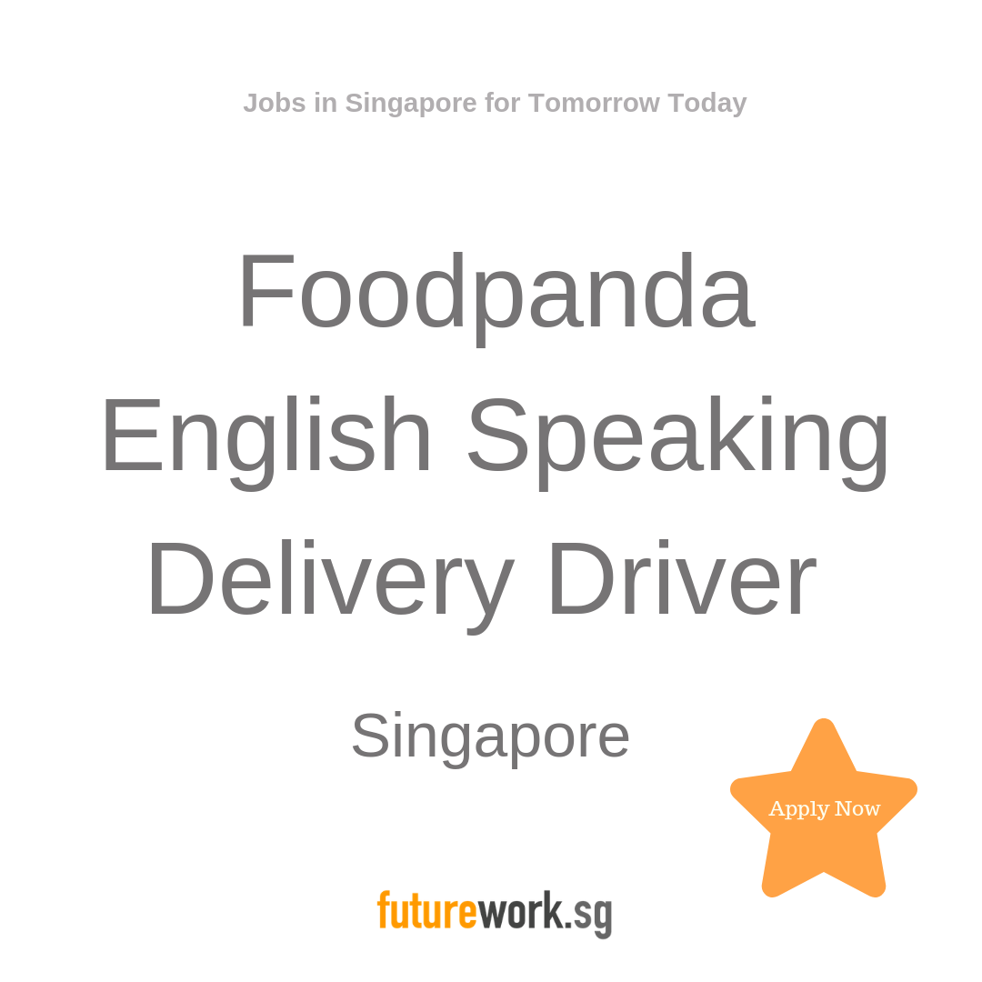 Foodpanda English Speaking Delivery Driver Why Become A Foodpanda