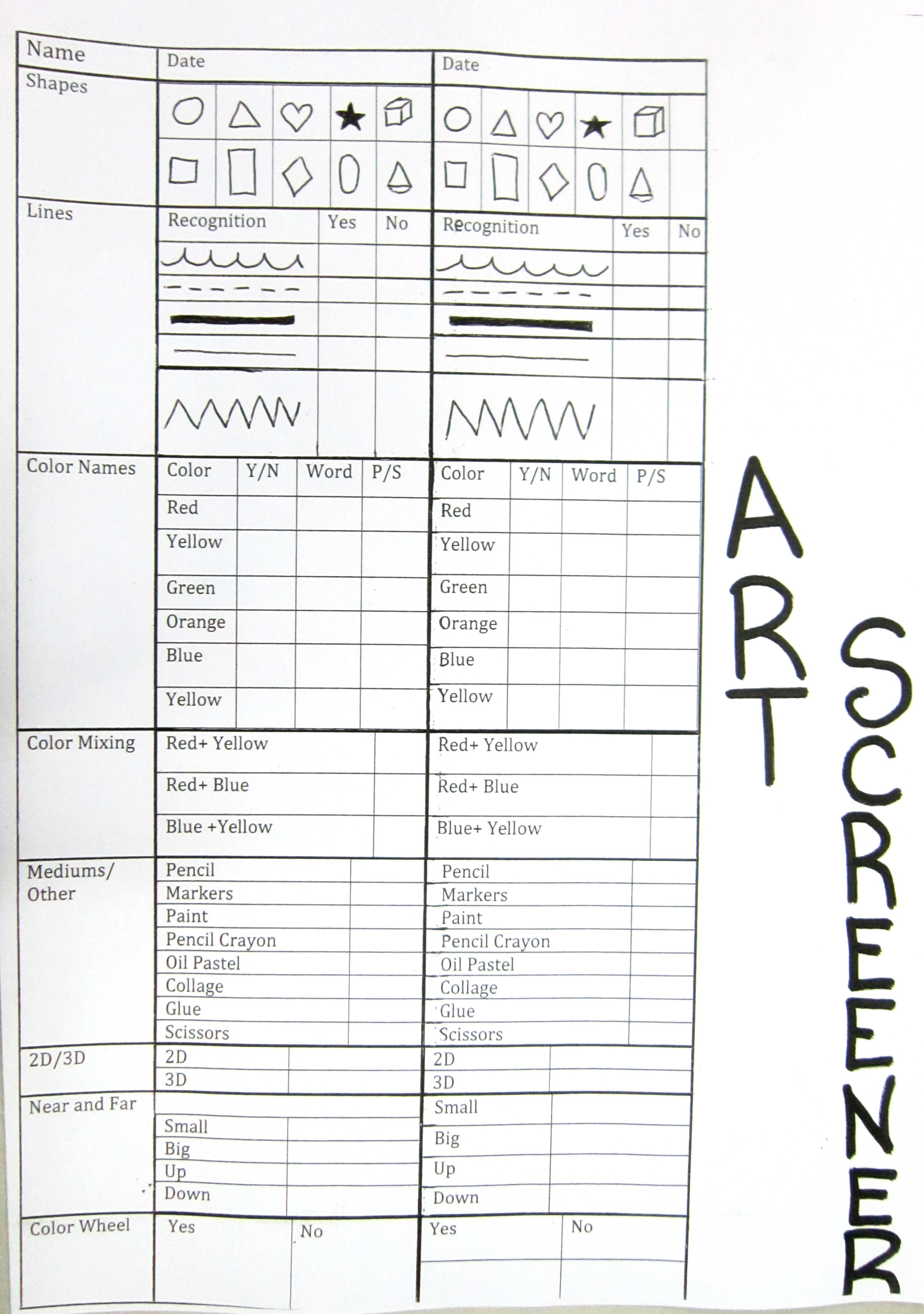 Artifacts Worksheets For Elementary