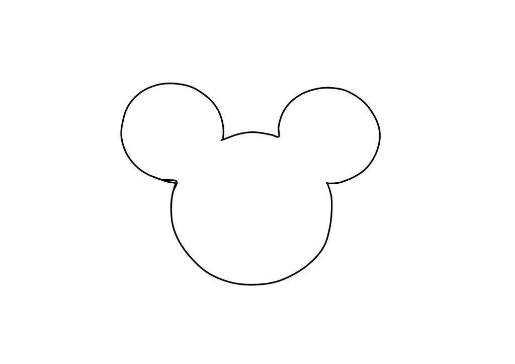 8 Best Images Of Free Printable Template Mickey Mouse Mickey Mouse Head Template Mickey M Mickey Mouse Template Mickey Mouse Silhouette Mickey Mouse Outline