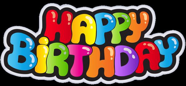 Happy Birthday PNG Clip Art Image Happy birthday font