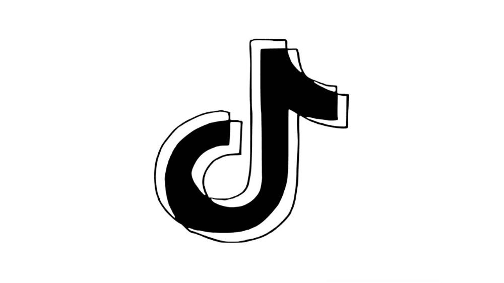 How To Draw Tik Tok Logo Pencil Drawing Step By Step Youtube Step By Step Drawing Drawings Pencil Drawings