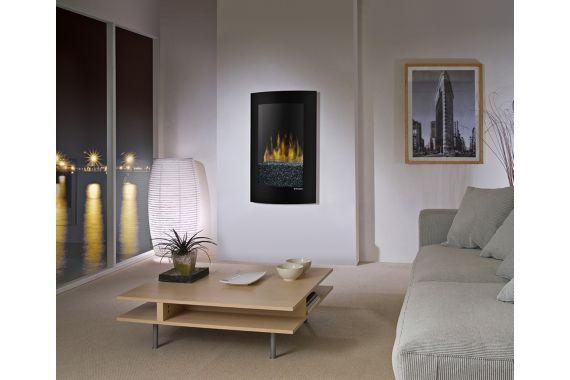 Dimplex Convex Wall Mount 22 3 4 Inch W Electric Fireplace Electric Fireplace Living Room Wall Mount Electric Fireplace Fireplace