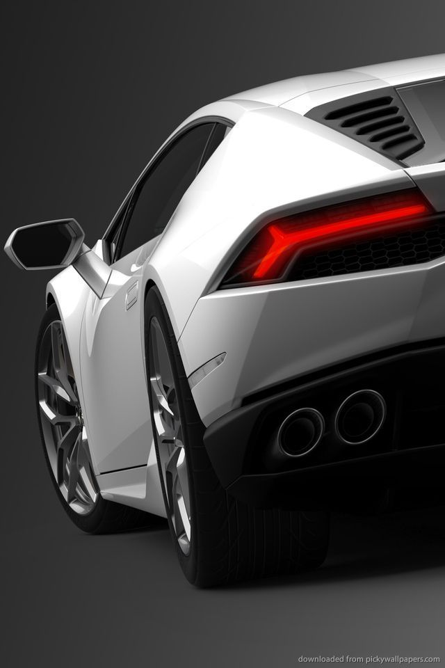 Download Lamborghini Huracan Lp   Back Wallpaper For Iphone