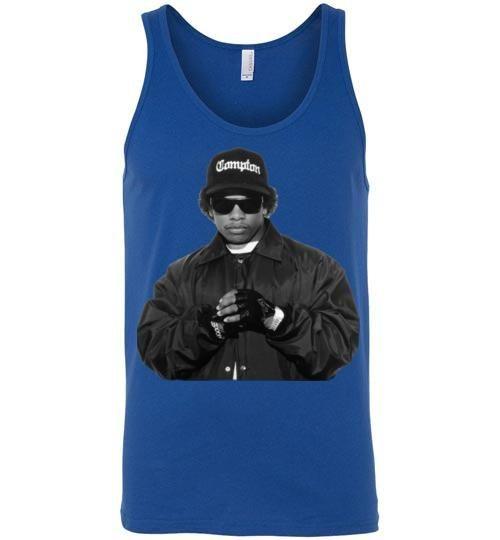 Eazy-E NWA Ruthless Records Eazy E Gangster Rap Hip Hop ,v1b, Canvas Unisex Tank