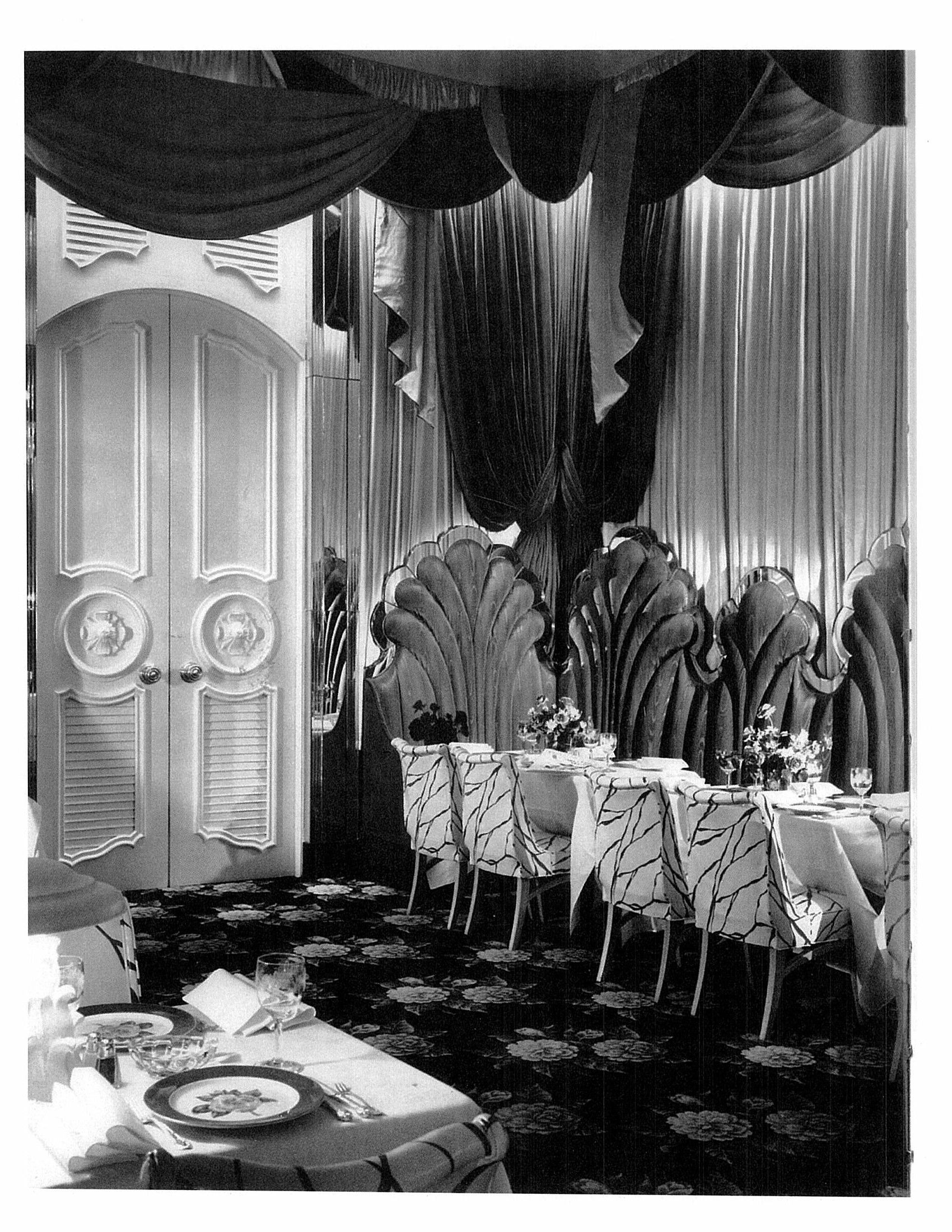 Dorothy Draper Dining Rooms Photo Source Varney Carleton In The Pink