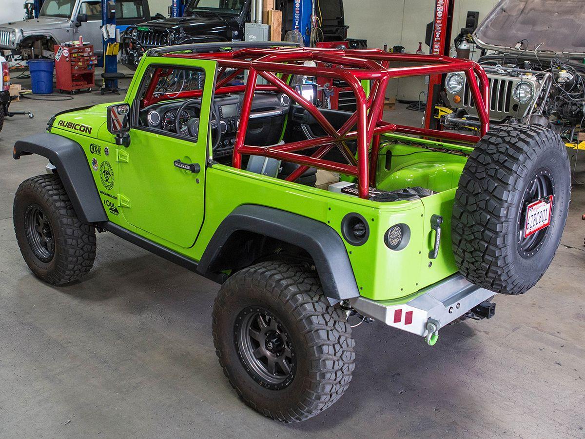 Jeep Wrangler Jk 2 Door Full Roll Cage Kit Roll Cage Jeep Wrangler Jk Jeep Wrangler