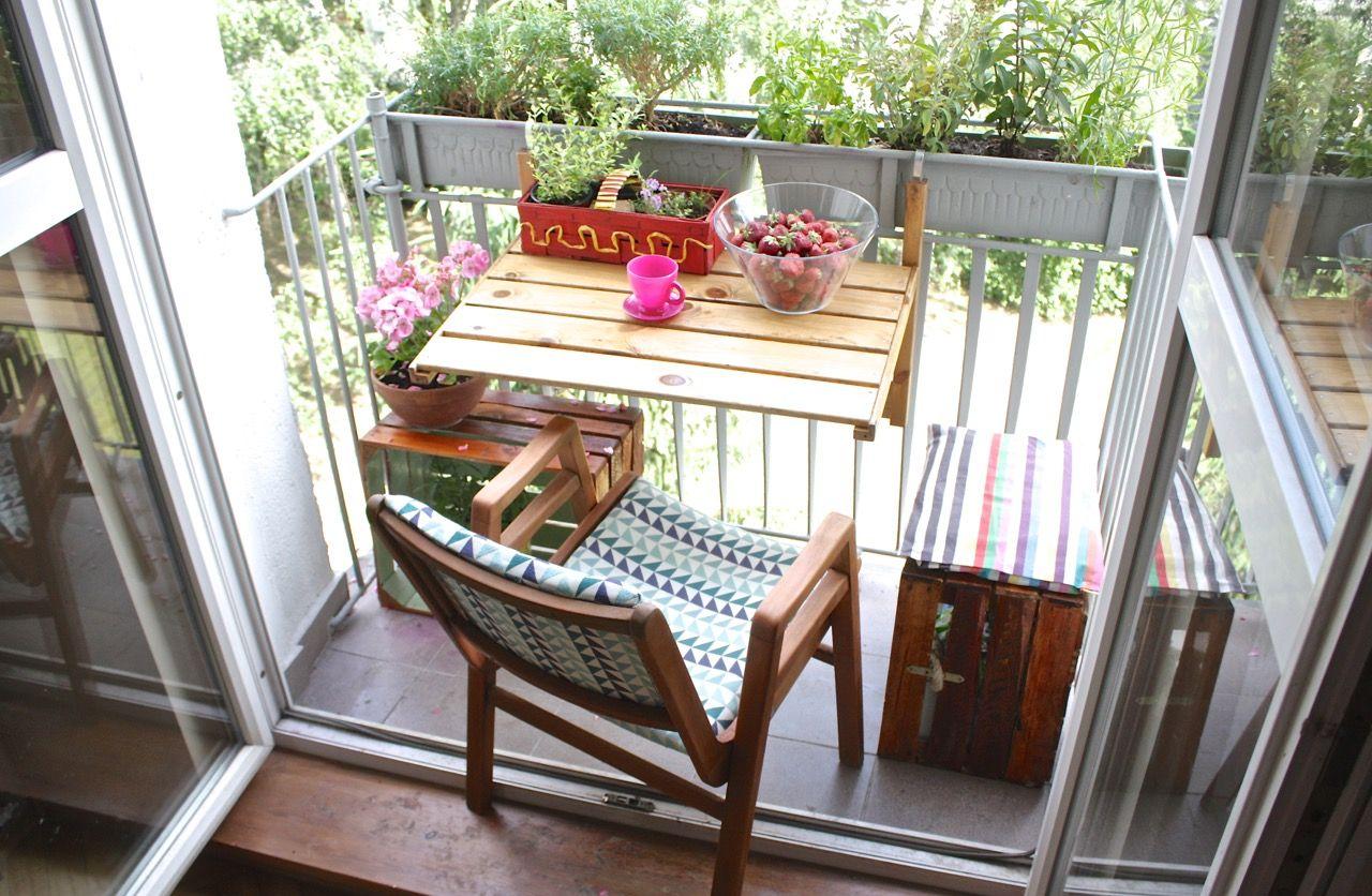 Jak Zrobić Drewniany Składany Stolik Na Balkon Balkon