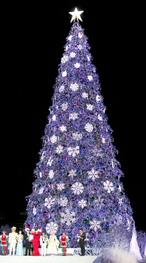 universal studios osaka japan - Japanese Christmas Tree Decorations