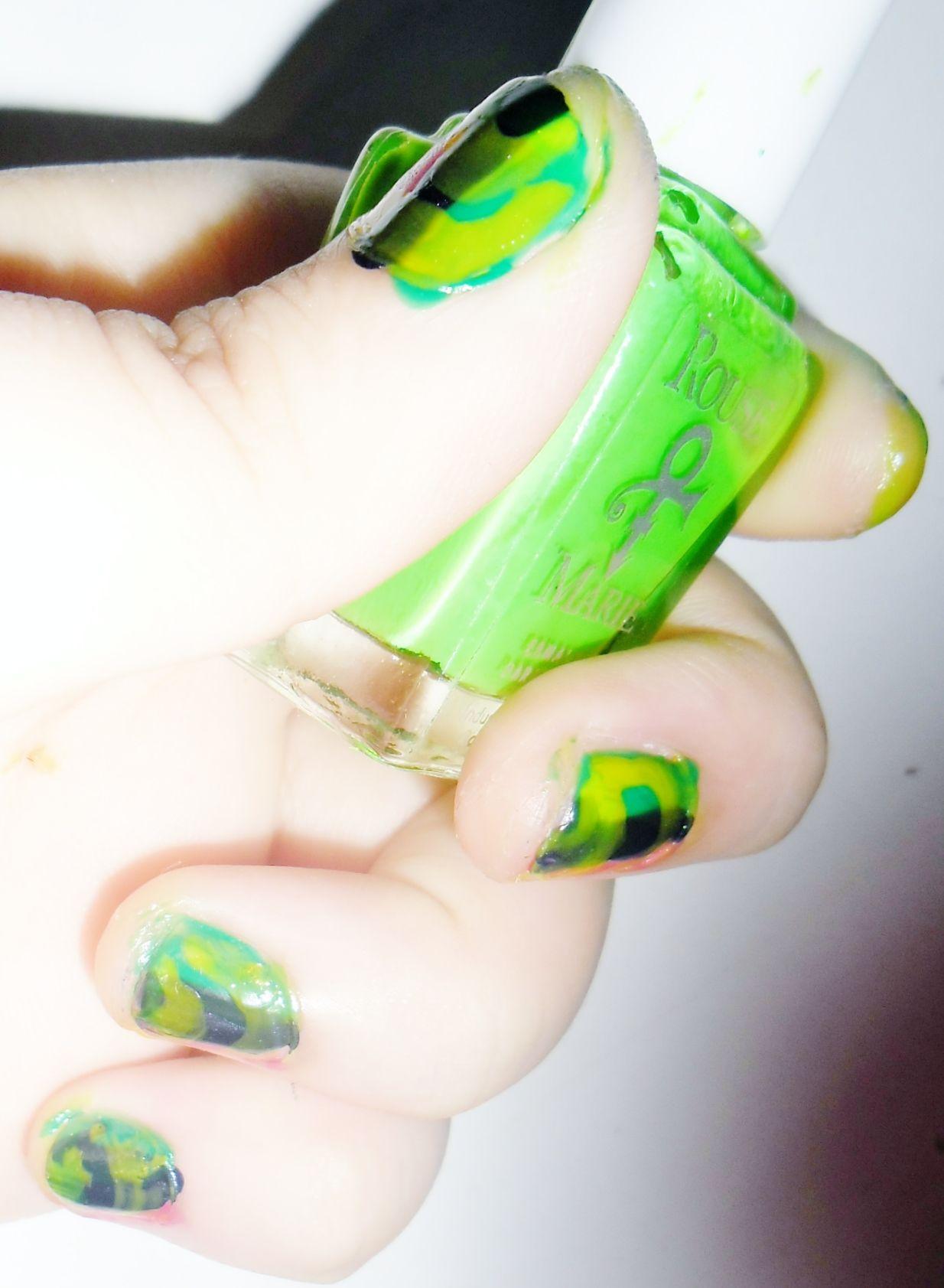 Asombroso Arte De Uñas Meliney Imagen - Ideas Para Pintar Uñas ...