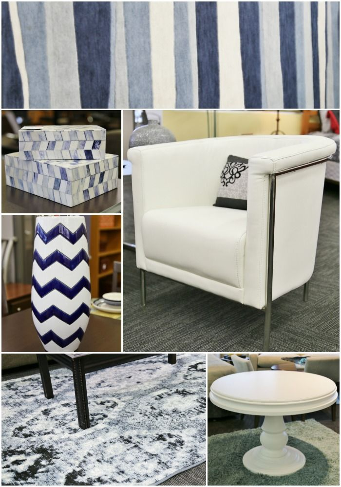 living room furniture budget%0A Beautiful blue and white furnishings  CORT clearance centers  ad
