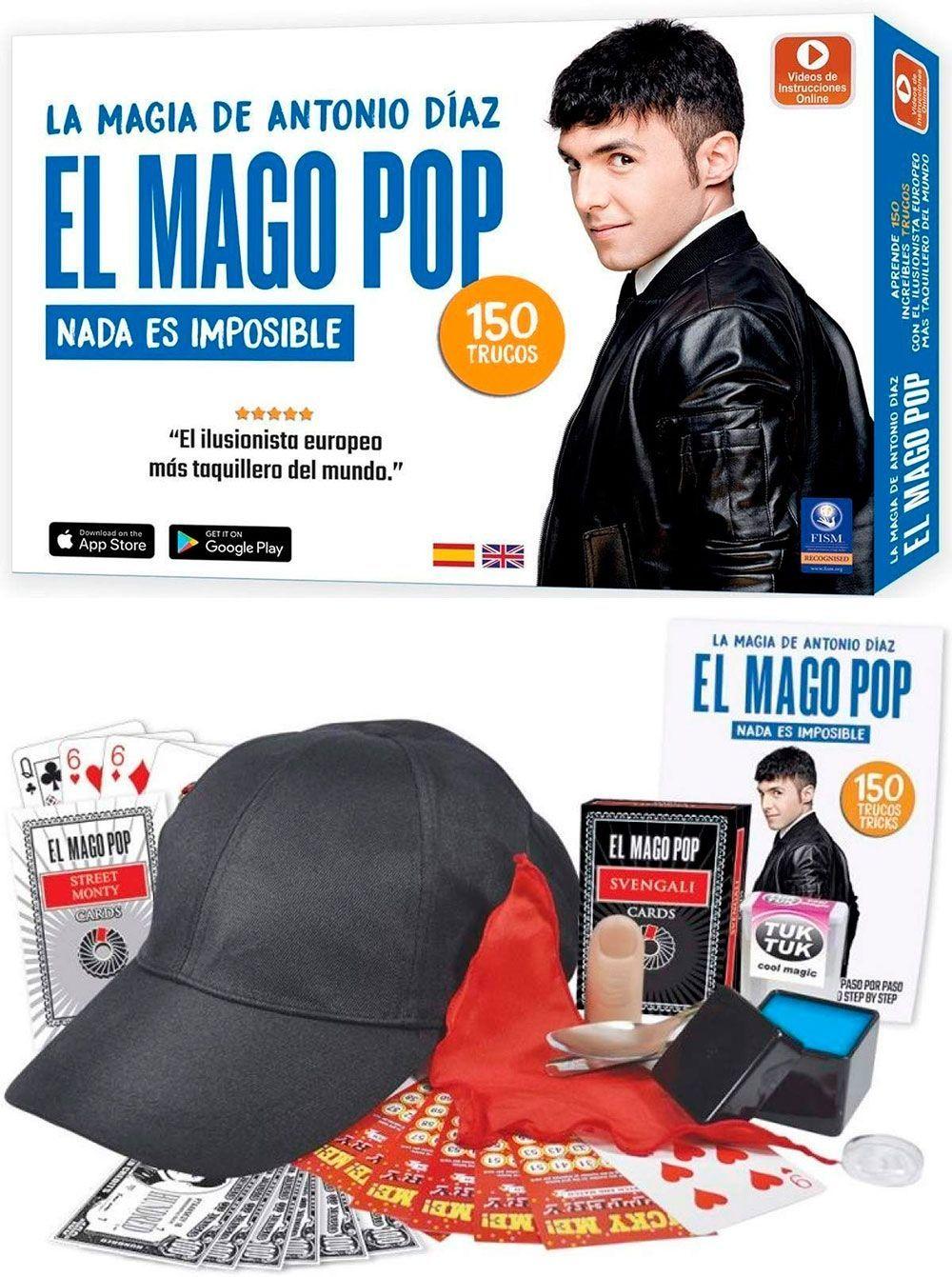 La Magia De Antonio Díaz El Mago Pop Nada Es Imposible 150 Trucos Mago Pop Espaciologopedico Magia Mago Trucos