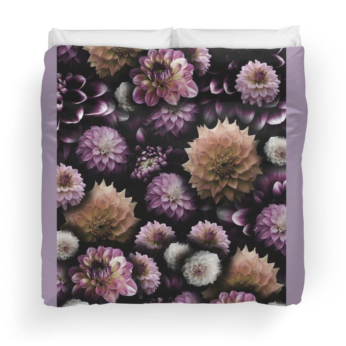 Cream and Lavender Dahlia Collage