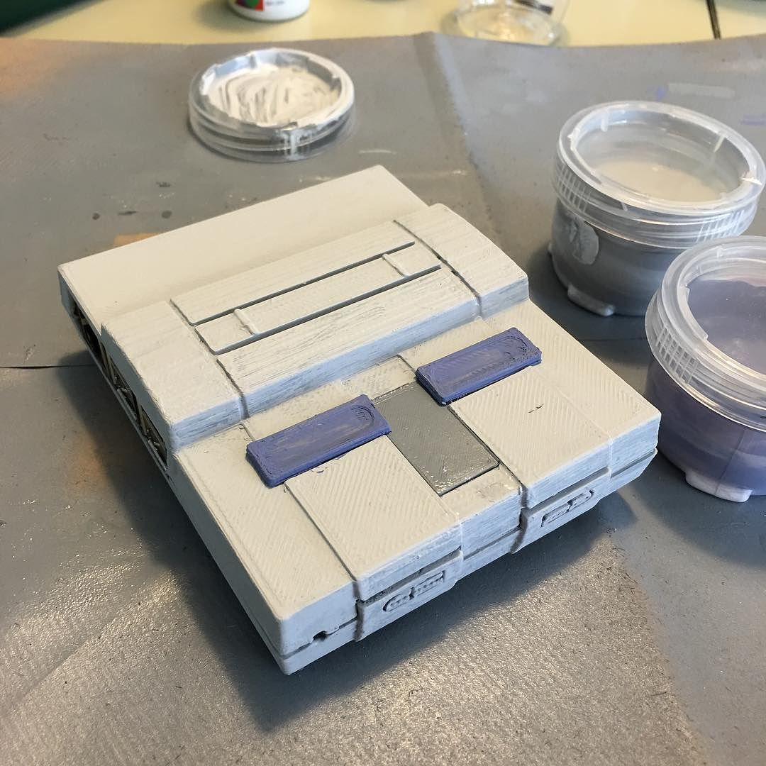 Something we loved from Instagram! Very excited about this #raspberrypi case! It's a mini #SuperNintendo  by tigerwolfgames Check us out http://bit.ly/1KyLetq