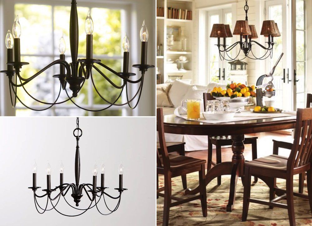 10 Chandeliers You Can Actually Afford Pottery Barn Chandelier
