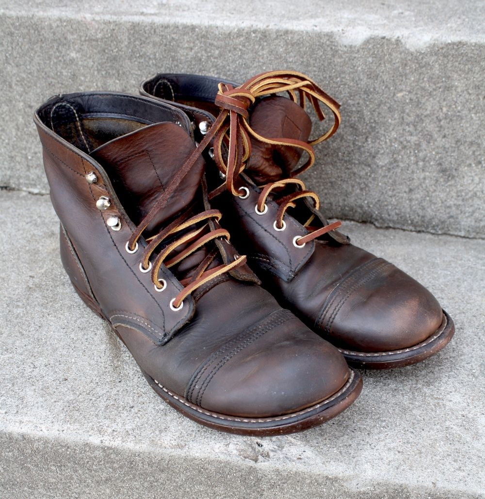 Revive Leather Boots Tutorial Iron Ranger Leather Laces Casual