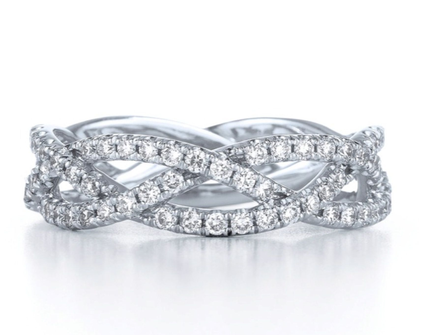 Braided Anniversary Band Anniversary Rings Pinterest