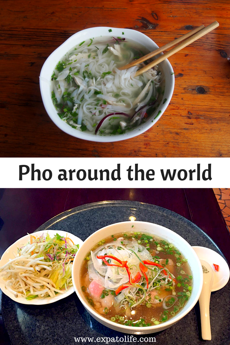 Do you want to see how Pho is served in different countries? Pictures and reviews