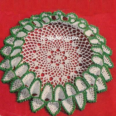 Free Vintage Crochet Tailored Ruffled Doily Pattern To Do List