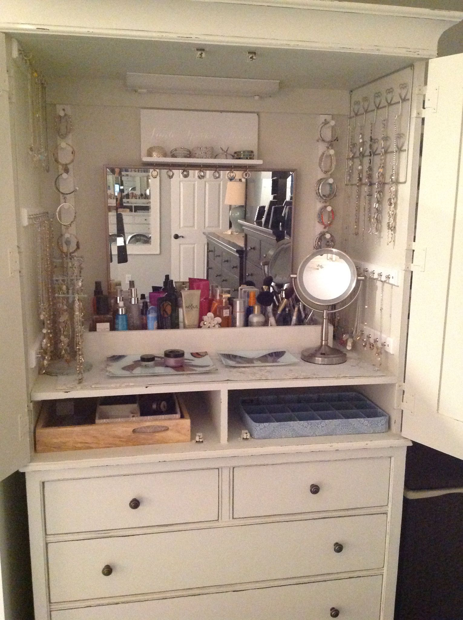 Repurposed Armoire  My House in 2019  Furniture Armoire