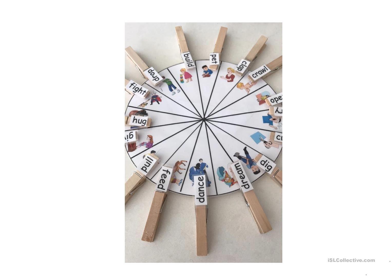 Wheel Of Verbs