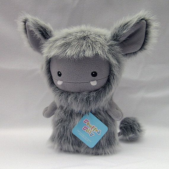The Frost Monster By Stuffed Silly Cute Monsters Soft Art Doll Kawaii Monsters