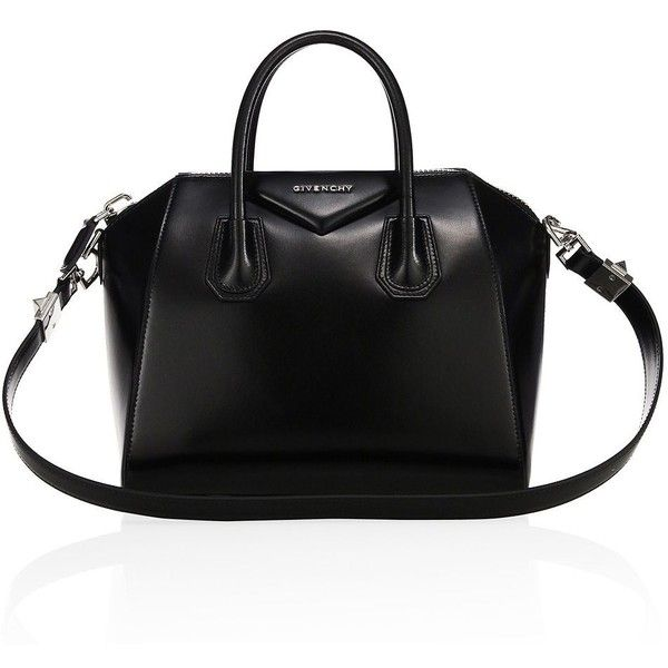 Givenchy Antigona Small Glazed Leather Satchel 2 290 Liked On Polyvore Featuring Bags