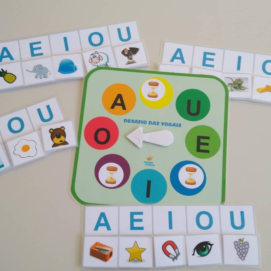 Na Caixinha De Hoje Tem Desafio Das Vogais Mais Um Jogo Que Ganhou Roleta Nova Jogos Infantis Educativos Educacao Infantil Ludico Na Educacao Infantil
