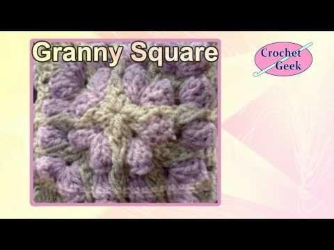 ▶ GRANNY SQUARE FREE CROCHET PATTERNS - YouTube
