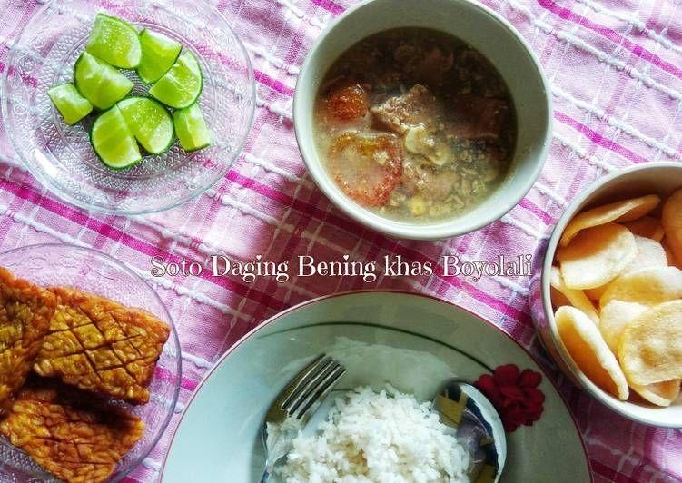 Resep Soto Daging Bening Khas Boyolali Oleh Nila Rahmawati Resep Resep Masakan Masakan Daging Sapi