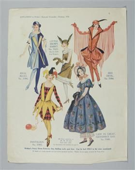 Magazine Supplement With Fancy Dress Museum Of New Zealand Te Papa Tongarewa Www Tepapapicturelibrary Co Nz Vintage Costumes Fancy Dress Fancy