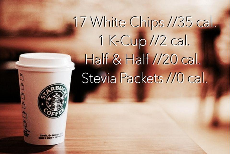 Skinny Starbucks White Chocolate Mocha 57 Calories