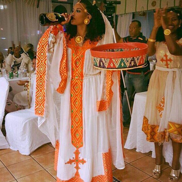 Ethiopian wedding the diaspora pinterest for Traditional ethiopian wedding dresses