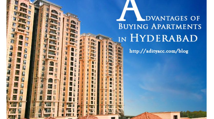 Advantages of buying apartments in hyderabad hyderabad