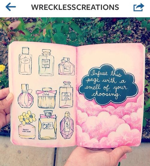 """Wreck This Journal Book Cover Ideas ~ Young forever """"wreck this journal sur we heart it"""