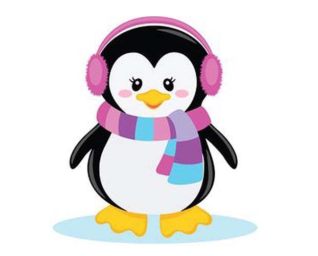 Desenho Para Apliquee Pinguim Festa Pinguim Portal Do Artesanato