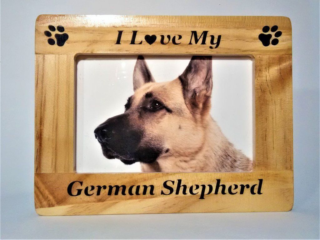 German Shepherd Germanshepherd German Shepherd Pet Picture Frame Shepherd