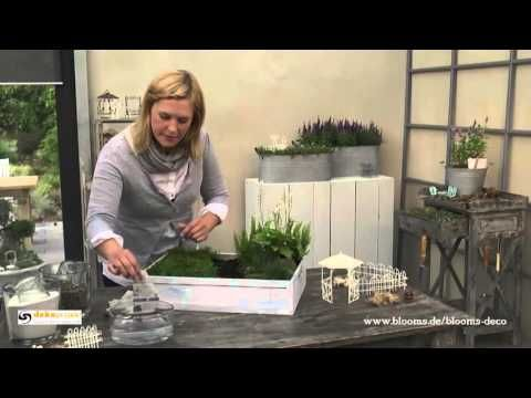 diy s er miniatur garten als fr hlingsdeko f r den tisch how to deko kitchen youtube. Black Bedroom Furniture Sets. Home Design Ideas