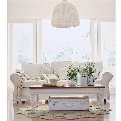 beachy whites | a beach cottage