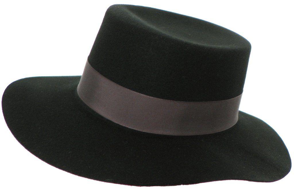 92485177788 Brooklyn Hat Co Garland Wool Felt Gaucho Hat Handmade in the USA at  headchange.com