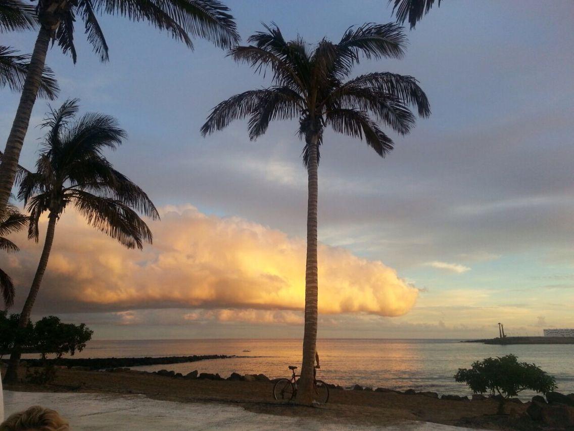 #Sunset #Beach Bar by Meliá Salinas #Costa Teguise ...