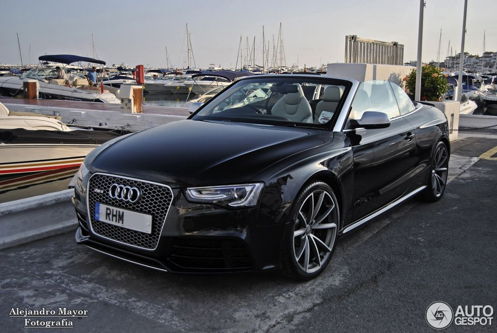 Audi RS5 Cabriolet B8 1 | GA5 | Pinterest | Audi rs5, Audi rs and Cars
